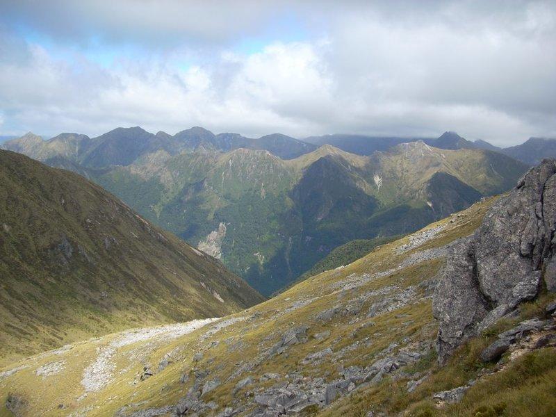 Ridgeline views