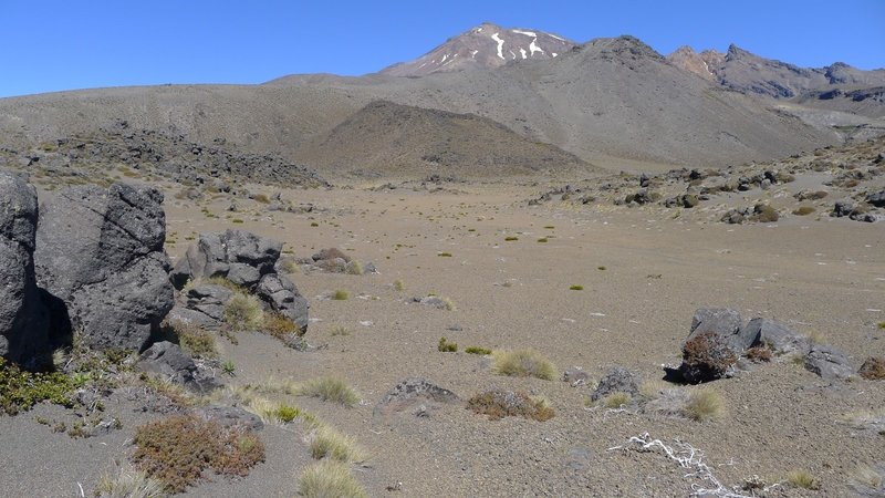 A Lunar Landscape! The Tongariro National Park offers dramatic and ever changing relief.