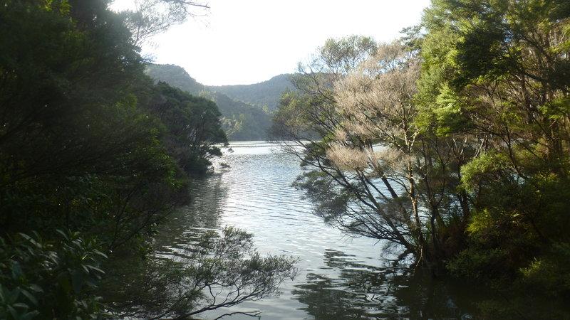 Lower Huia Dam.