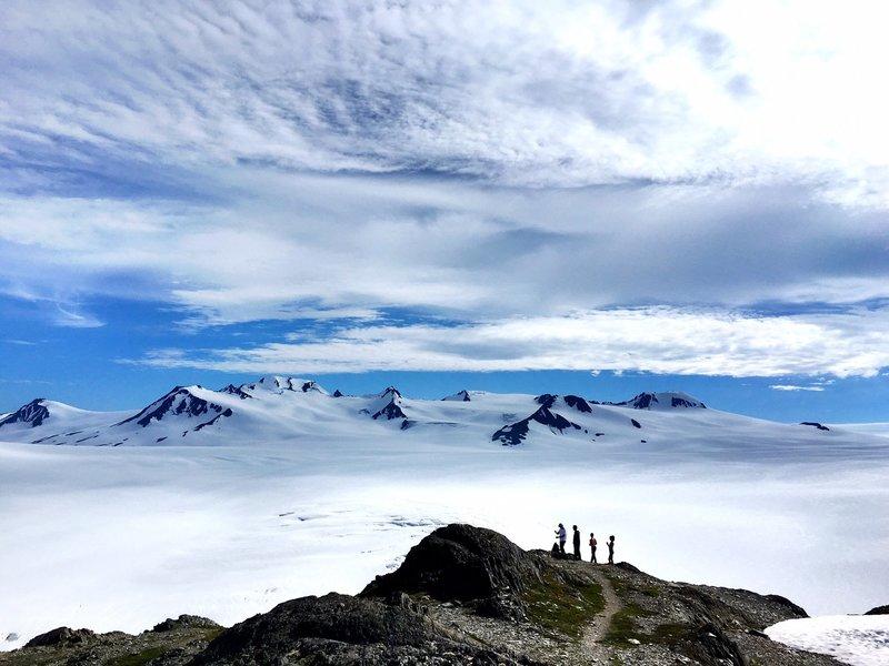 Harding Ice Field, Seward, Alaska.