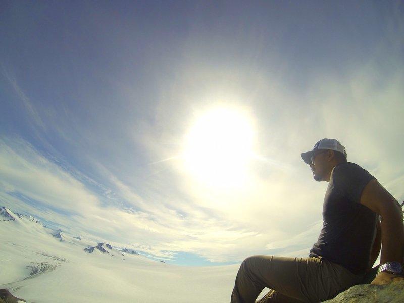 Harding Ice Field, Seward, AK