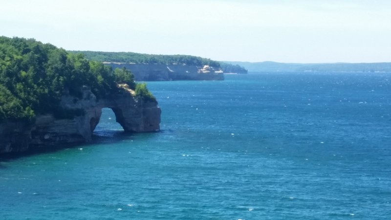 Lovers arch, Pictured Rocks National Lakeshore