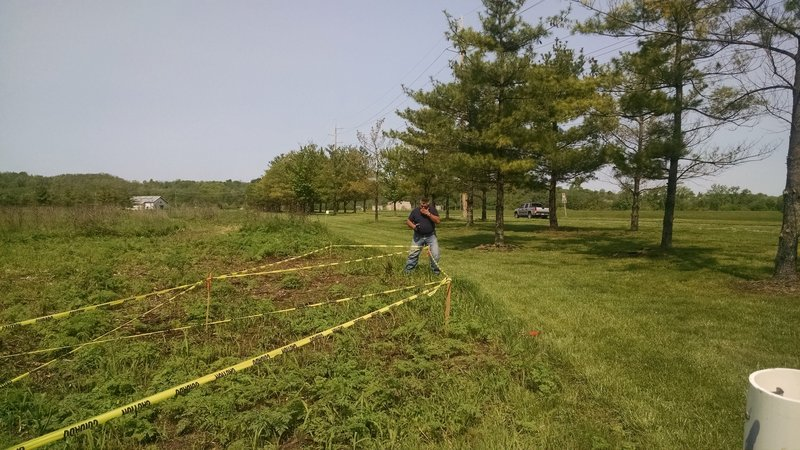 Tree Planting around North Trail Loop