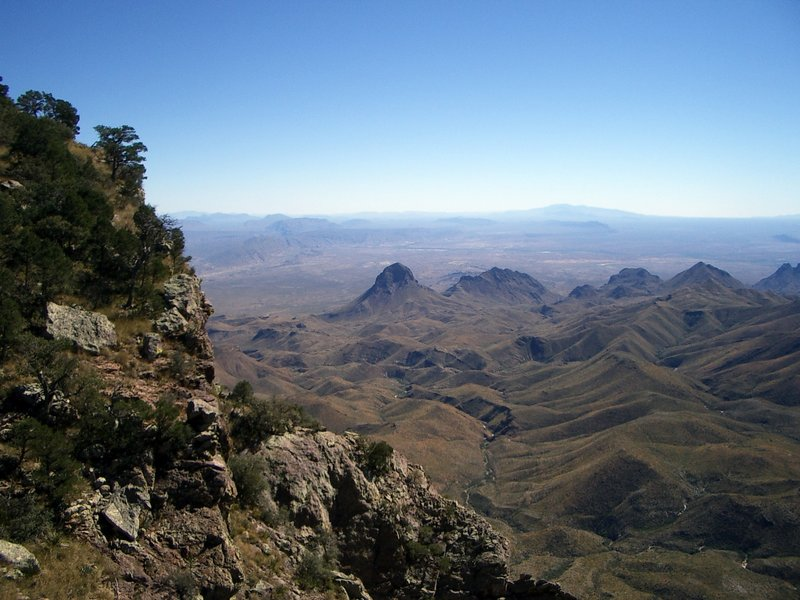 Southwest Rim Trail, Chisos Mountains, Big Bend National Park. with permission from JustinB