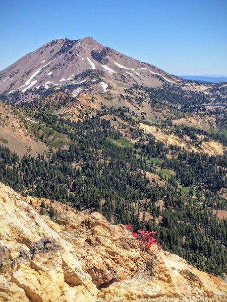 Lassen Peak from the summit