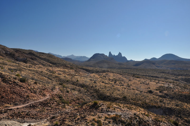 Mule Ear Peaks and Trail.