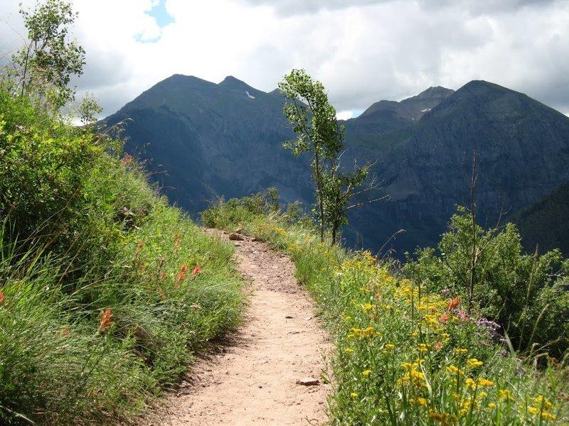 Jud Weibe Trail, Telluride, Colorado.