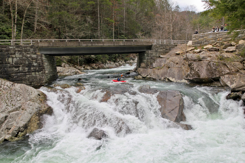 Great Smoky Mountains National Park - at The Sinks on the Little River.