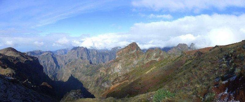 Pico Ruivo.