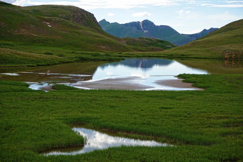 Pond along the CO/CDT.