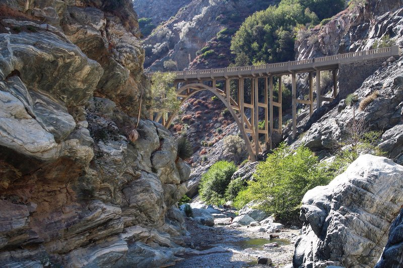 Bridge to Nowhere, Angeles National Forest