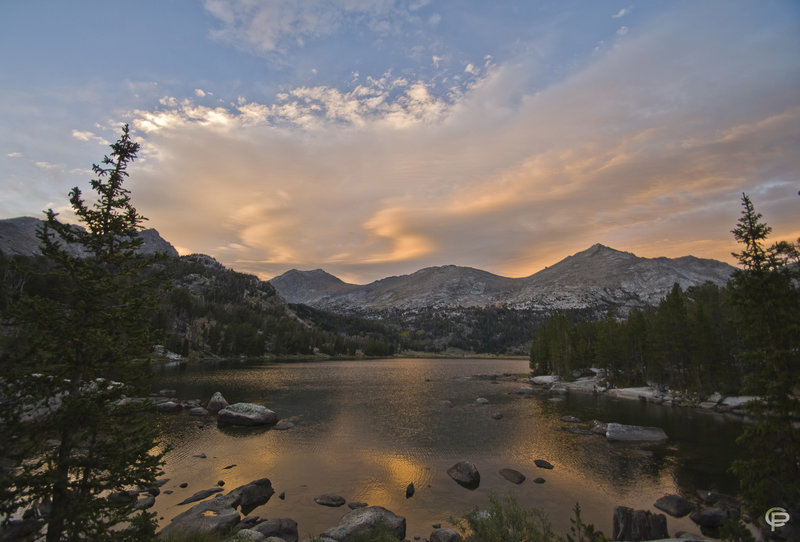 Big Sandy Lake sunset.