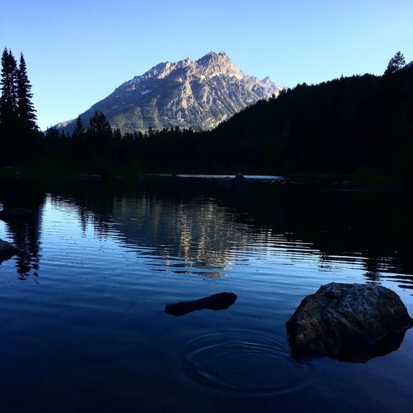 Bear Paw Lake. Grand Teton National Park. Worth the effort for the seclusion!