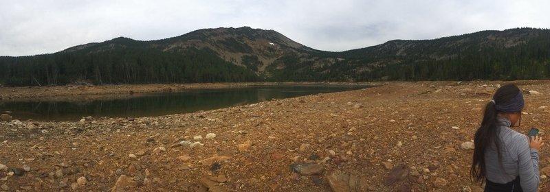 View from Carlton Lake via Lolo Peak Trail.