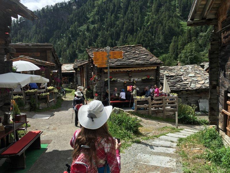 Zmutt Village.