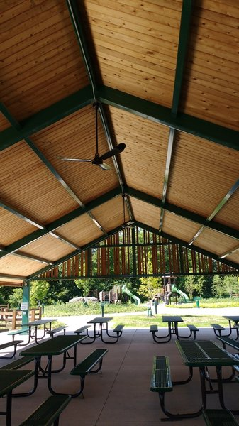 Pavilion at Hilltop Group Area.
