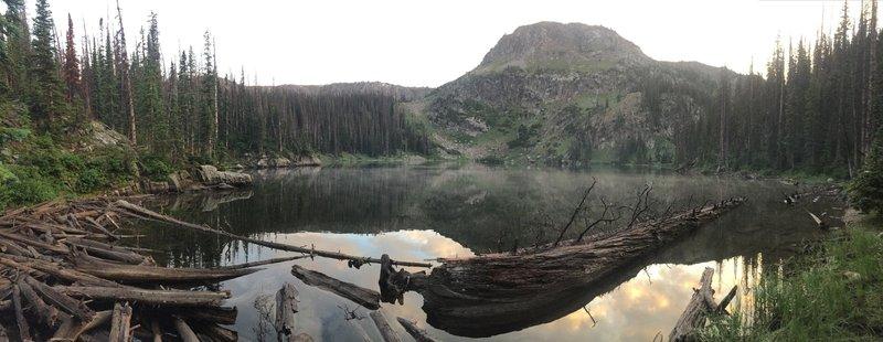 Evening views of Bighorn Lake.