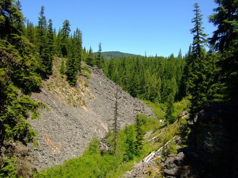 Mud Creek Drainage near start of trail.