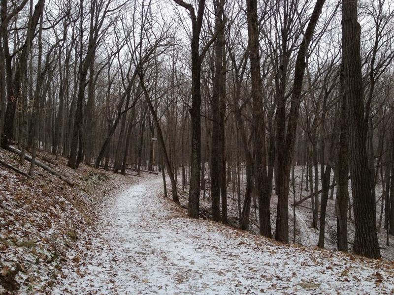Trailrunning in the winter!