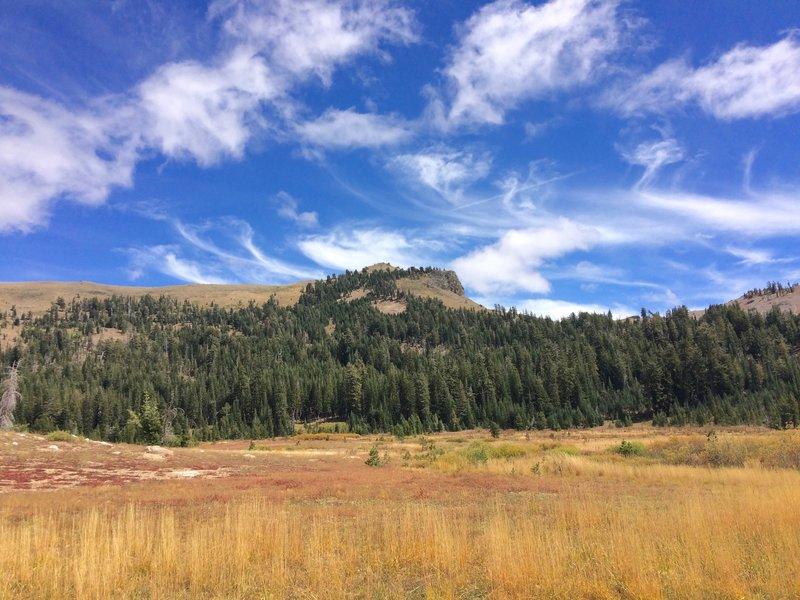Castle Peak from Round Valley.