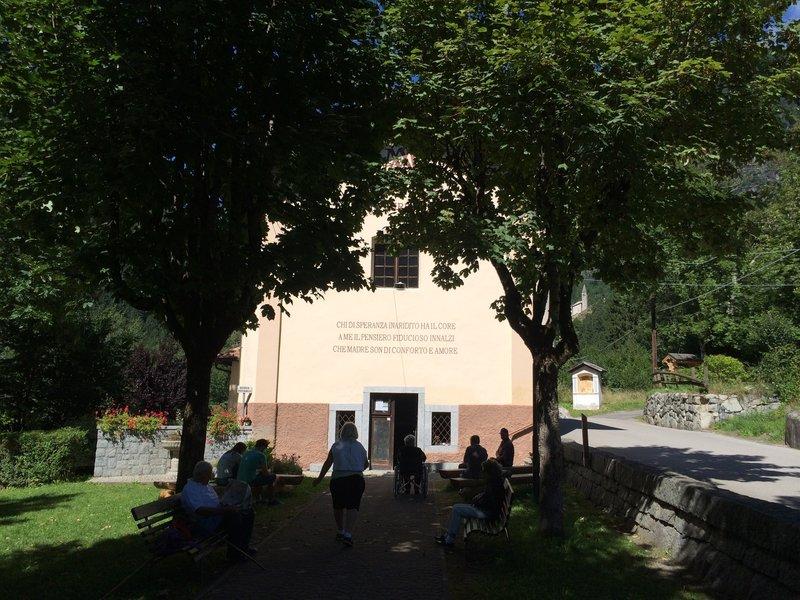 Church of Santa Maria del Potere.