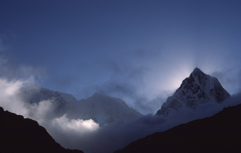 Photo taken from Lobuche.