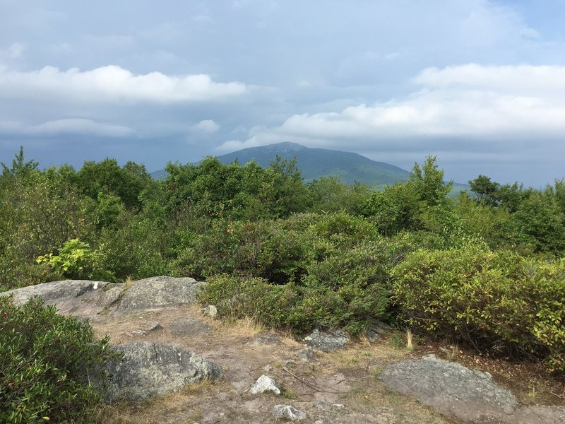 Summit with view of Monadnock.