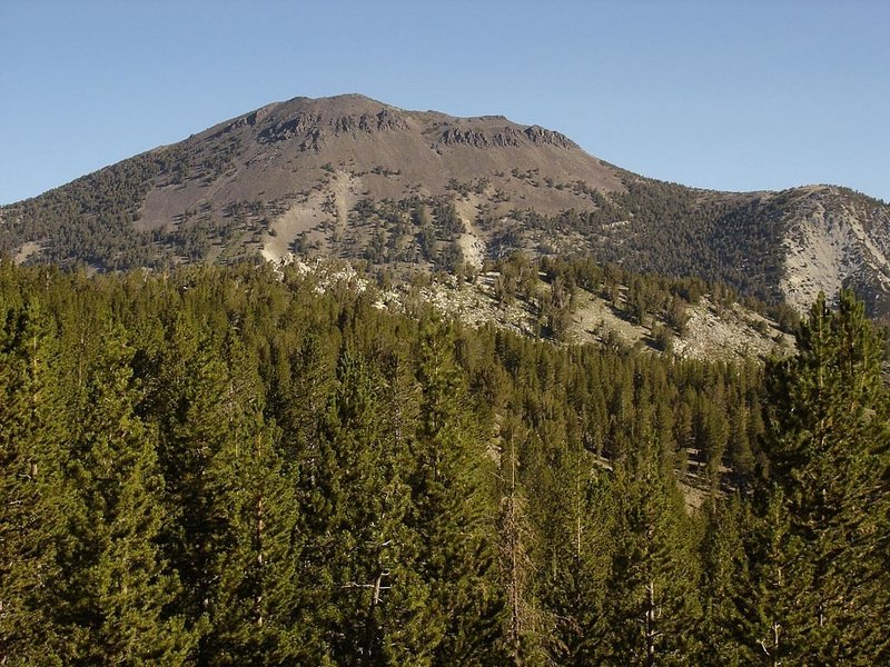 Captivating views of Mt. Rose grace all visitors on the Rim to Reno Trail.
