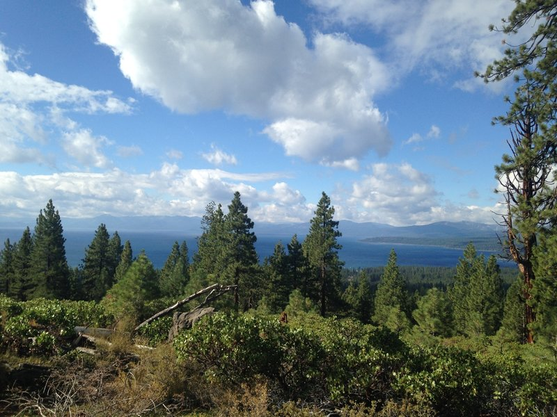 Epic views of Lake Tahoe await all who travel the Tahoe Rim Trail.