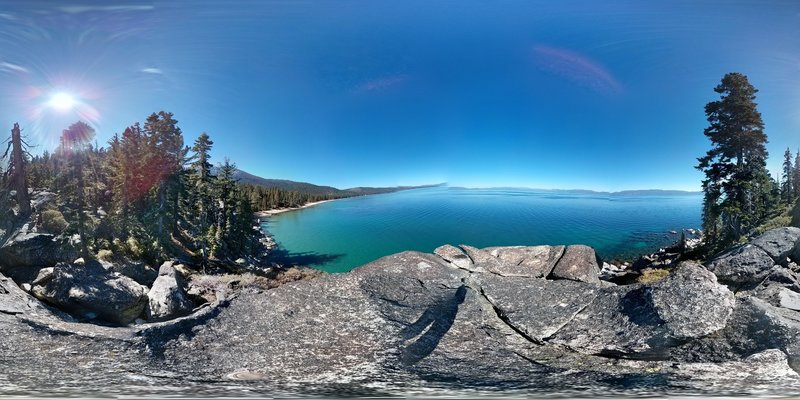 Lake Tahoe from D. L. Bliss State Park.
