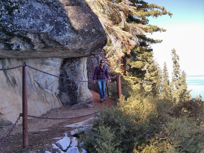 What a fun way to traverse along the Rubicon Trail!
