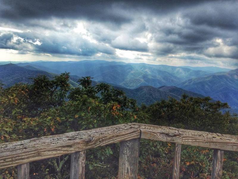 The summit of Pisgah Mtn.