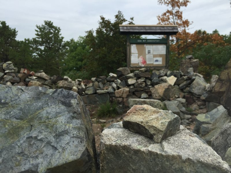 MIT Observatory on the Rock Circuit Trail.