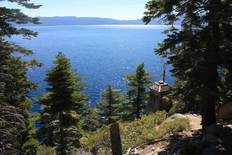 Rubicon Point Lighthouse, D.L Bliss State Park.
