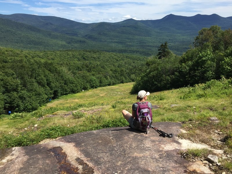 Viewpoint at the Waterville Valley Ski Trails