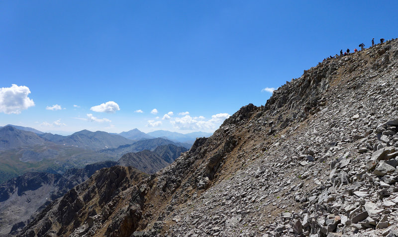 A peek at the peak