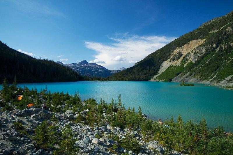 Upper Joffre Lakes.