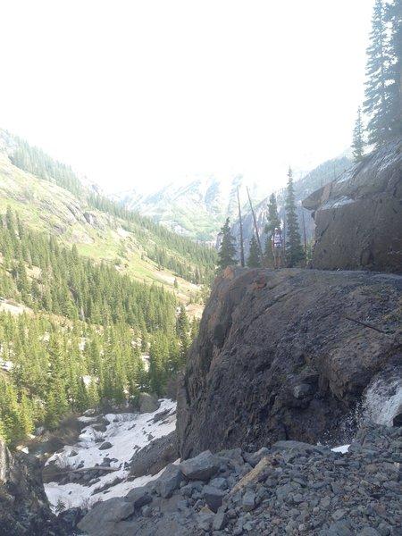 Bridal Veil Trail.