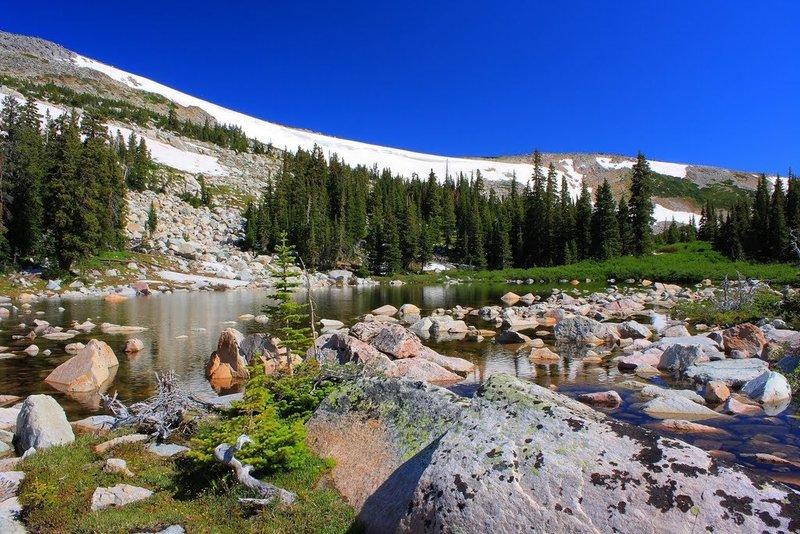 Glacier Pond off Lost Lake Trail.
