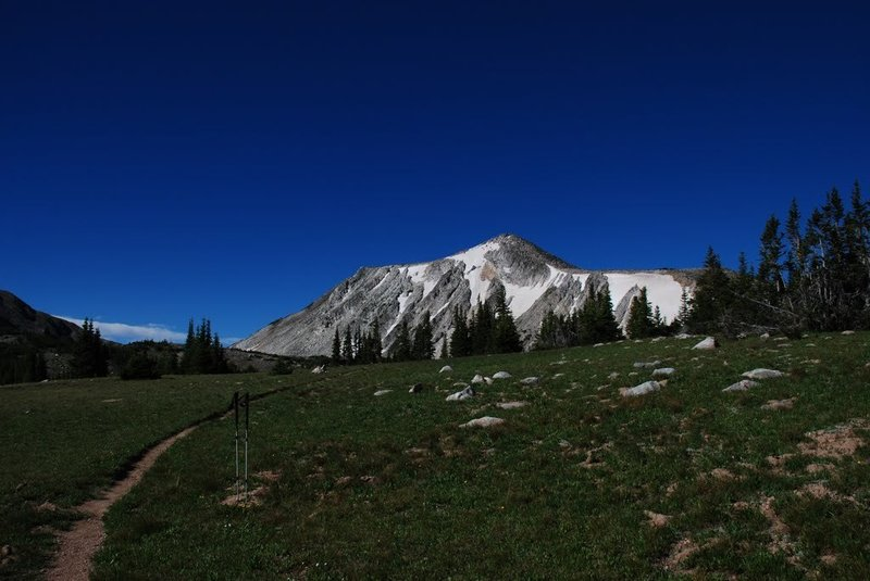 Medicine Bow from Gap Lake Trail (108).