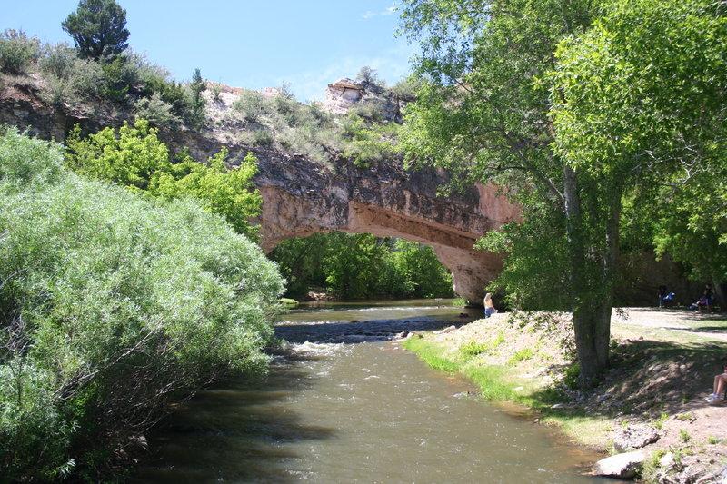Ayers Natural Bridge