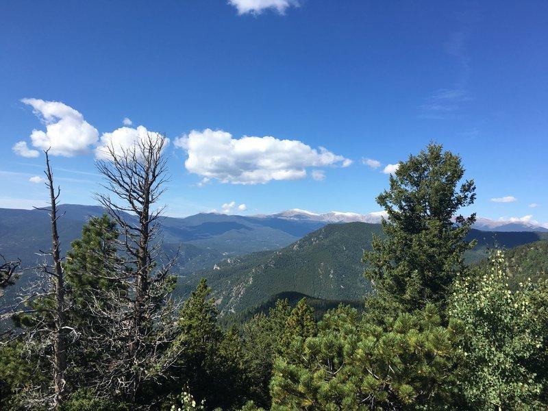 Bergen Peak Trail.