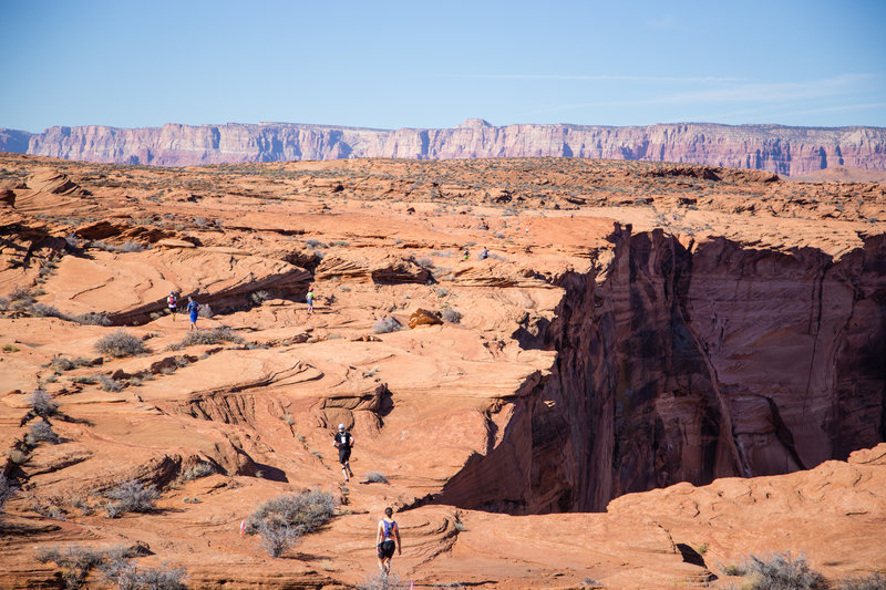 One of the views of Horseshoe Bend