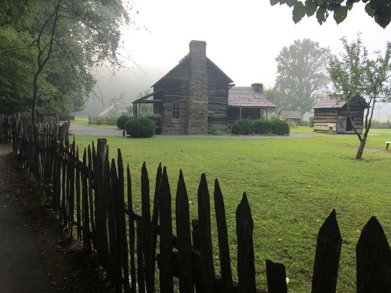 Mountain Farm Museum at Oconuluftee Visitor Center.