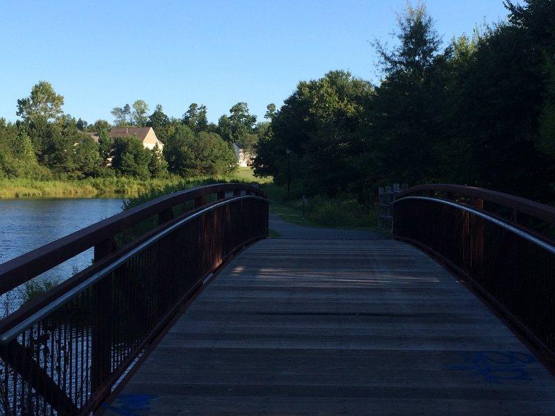 Bridge between Huntersville and Cornelius.