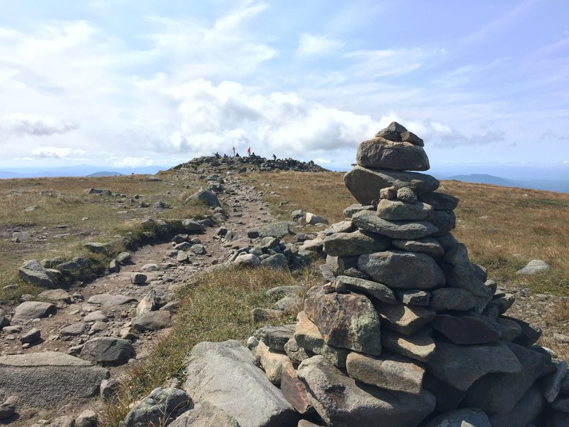 Summit in the distance.