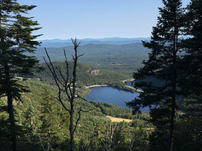 View of Echo Lake.