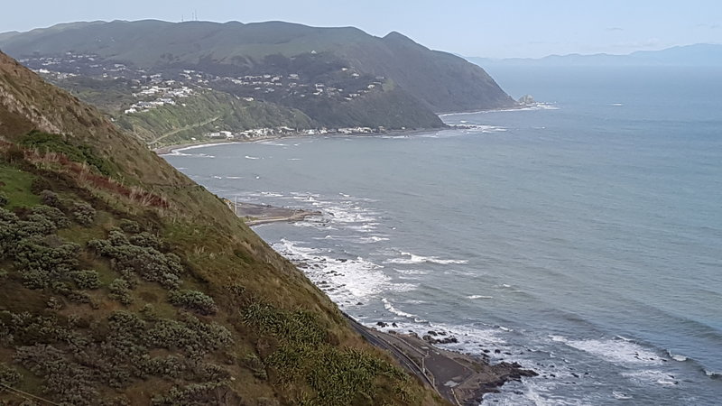 Looking south towards Pukerua Bay.