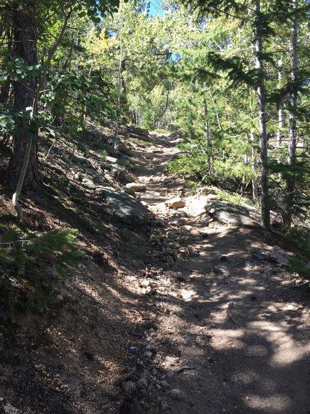 Second climb.