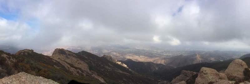 Boney Mountain Summit.